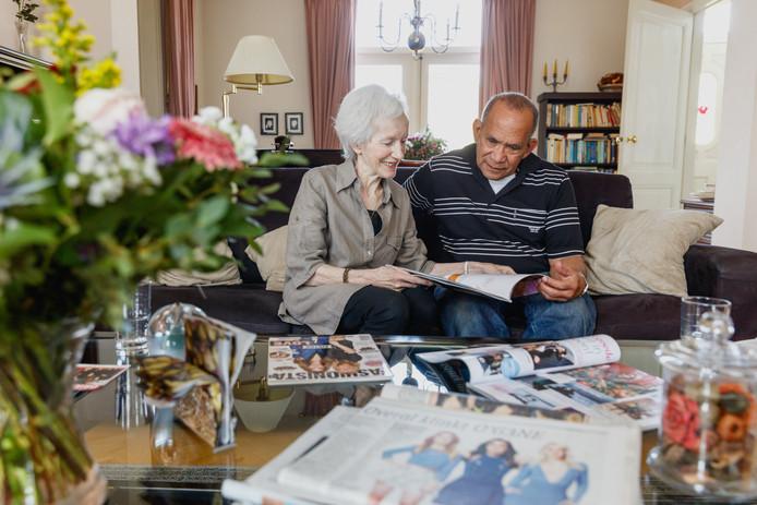 Ad en Willy Malée kunnen alle publicaties over hun kleindochters Lisa, Shelley en Amy amper bijhouden.