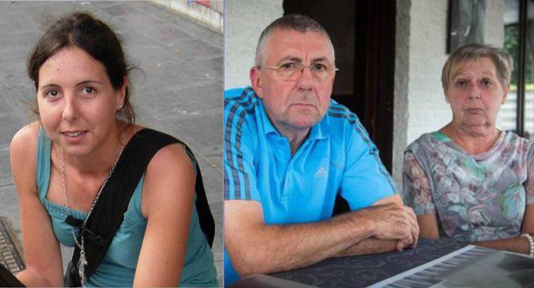 Morgen is het exact zeven jaar geleden dat Elke Wevers (foto links) verdween. De ouders (foto rechts) nemen nu Jef Vermassen in de arm om misschien alsnog een doorbraak te forceren.