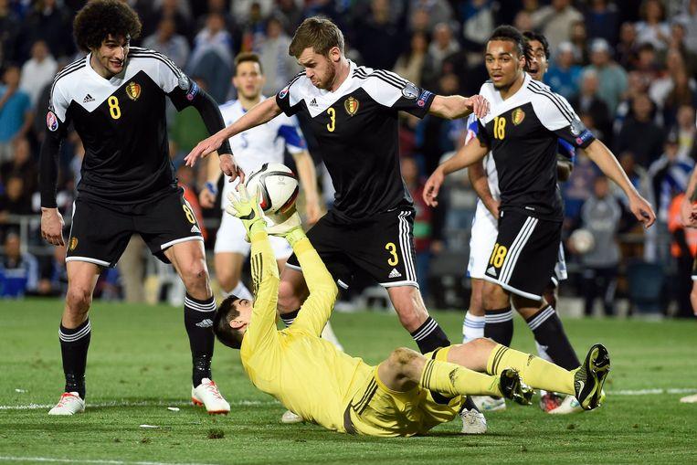 De doelman werd verkozen tot 'man van de match' en dat zei voldoende over de nonchalance waarmee de Duivels de tweede helft aanvatten.
