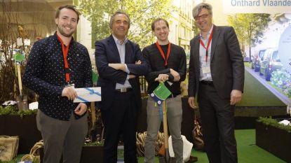 Scouts Hemiksem vallen in de prijzen met onthardingsproject: verharde speelplaats wordt groenruimte