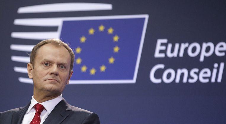 De nieuwe EU-president Donald Tusk. Beeld null