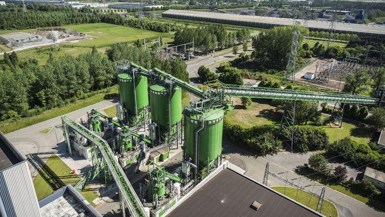 De Gentse biomassacentrale Max Green is volgens investeringsmaatschappij Ackermans & van Haaren zwaar verlieslatend.