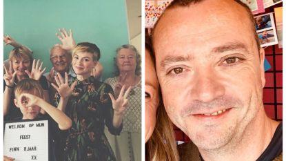 SHOWBITS. Erika Van Tielen viert feest en Miguel Wiels kampeert met een 'skwon' meisje