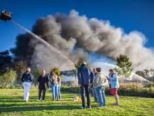 Oorzaak van brand bij Montapacking in Molenaarsgraaf blijft onduidelijk