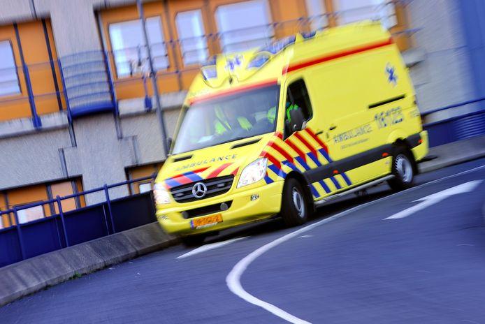 Foto van een ambulance