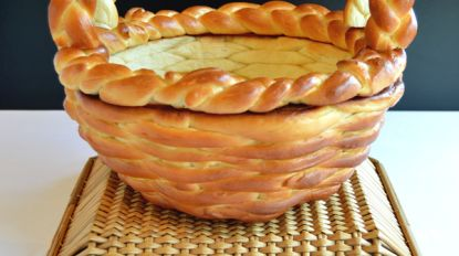 Zo maak je een broodmandje voor je paasontbijt