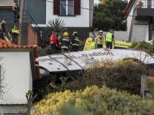 29 Duitse doden bij ongeluk toeristenbus Madeira