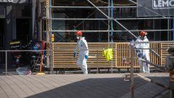 """Bewoners Stationsplein mogen nog niet naar huis tijdens opruimen asbest na zware brand: """"We hebben enorm veel geluk gehad"""""""