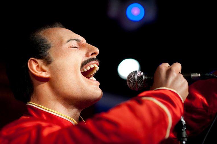 Zanger Freddie Mercury van Queen Beeld epa