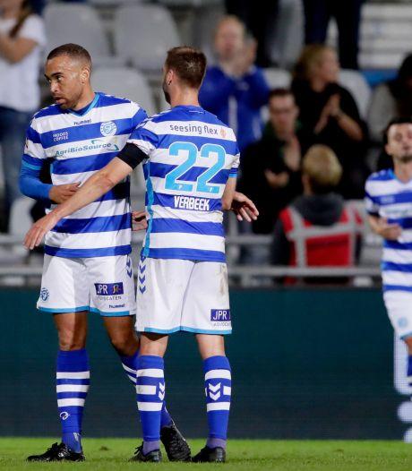 Opoku is zelfkritisch na debuut en goal voor De Graafschap: 'Gelukkig raakte ik die bal wél goed'