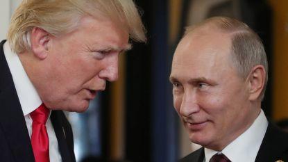 """Poetin en Trump ontmoeten elkaar in een """"derde land"""""""