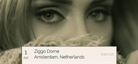 Iedereen wil naar Adele: Dit ging extreem snel