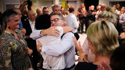 VIDEO: Burgemeester Koen Van den Heuvel (CD&V) behaalt een klinkende overwinning