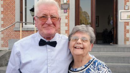 Jos en Lucie vieren 60 jaar huwelijk