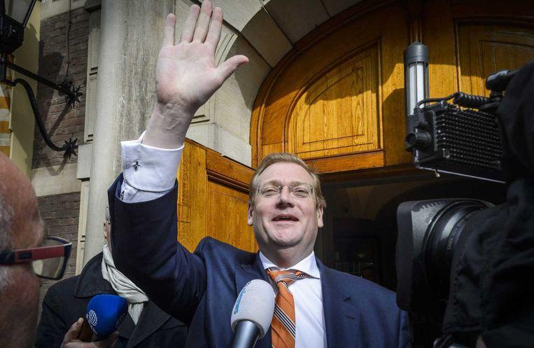 Minister Ard van der Steur kan zich opmaken voor wederom een tumultueuze week. Beeld null