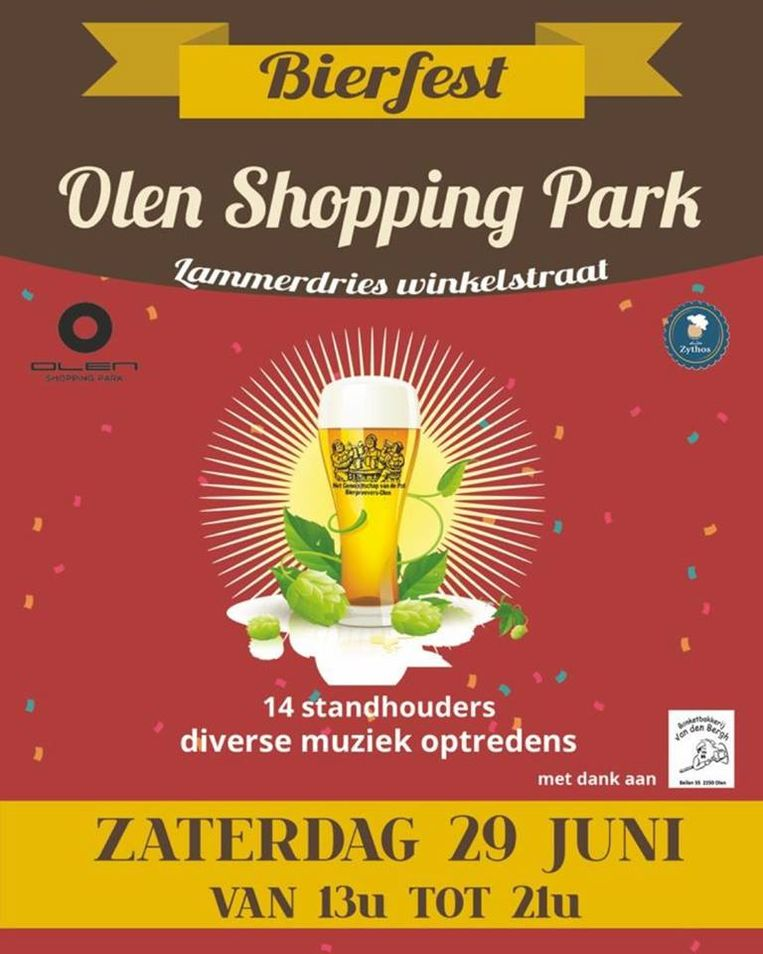 De affiche van Bierfest.