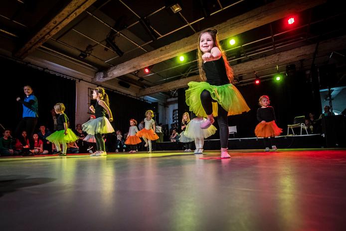 Activiteiten bij het Facilitair Bedrijf tijdens festival OPEN in 2018.