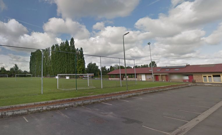 Het veld van FC Galmaarden.