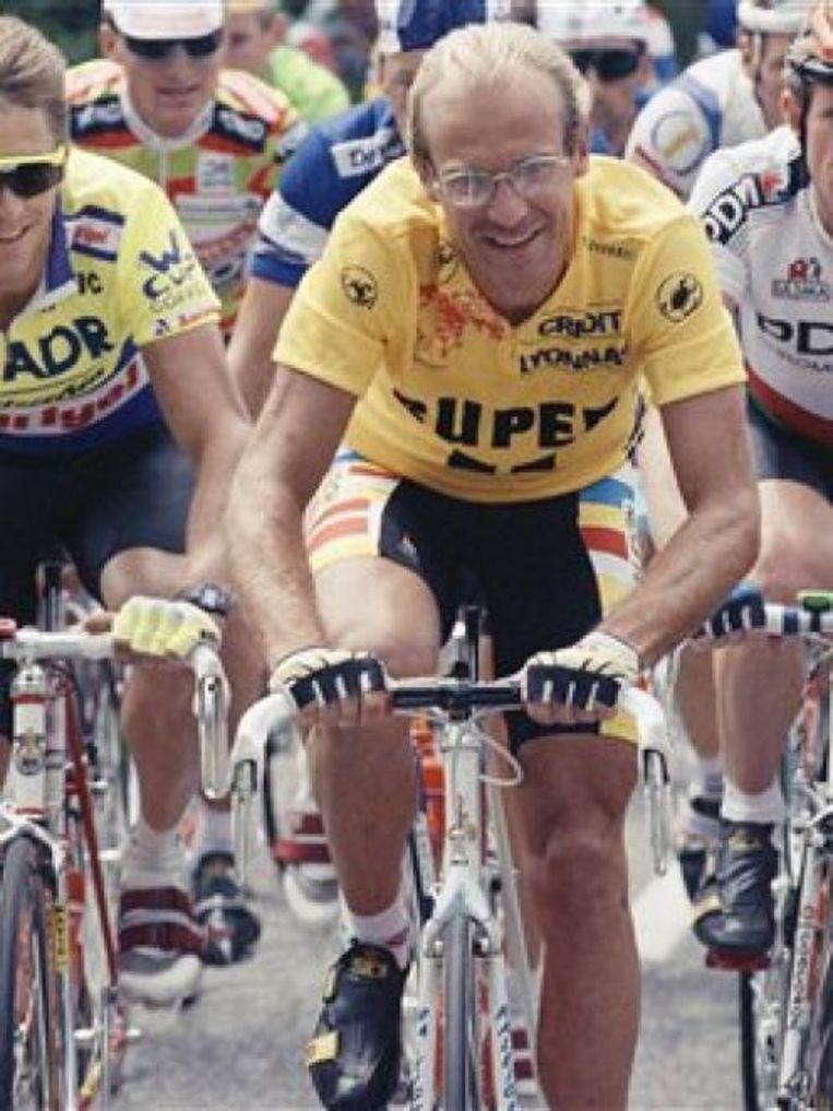 Laurent Fignon won de Tour twee keer. Beeld