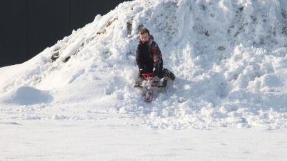 Vrije namiddag in de sneeuw of extra druk?