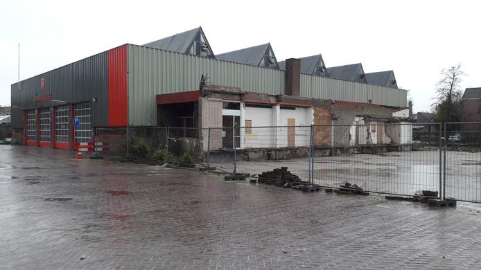 De huidige brandweerkazerne in Naaldwijk