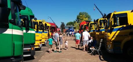 Alle trucks gepoetst op Truckshow Nieuwendijk