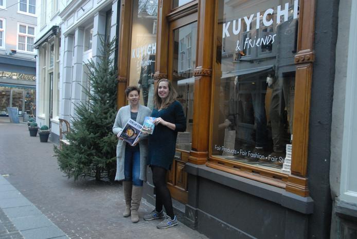 Kuyichi & Friends in de Kolperstraat van mede-eigenaar Floortje Dessing is zojuist geopend.