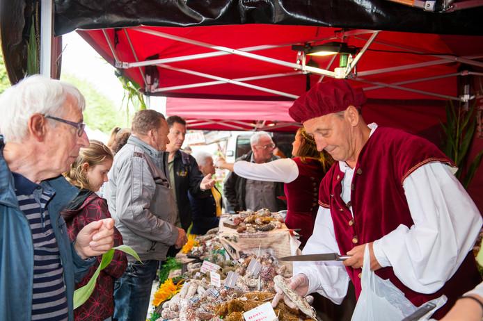 De jaarlijkse Rubensmarkt in Antwerpen.