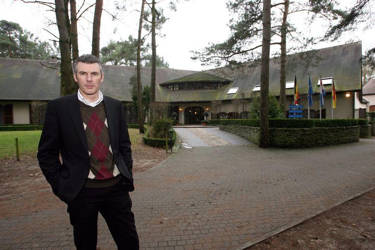 Een archiefbeeld van voormalig eigenaar Paul Vervloesem voor hotel De Residentie.
