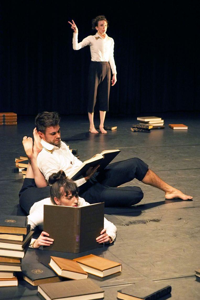 De Stilte danst 'Mankind' Choreografie: Jack Timmermans.  Beeld Mankind
