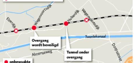 Nieuwe oplossing stelt buren spoorwegovergangen in Almen gerust