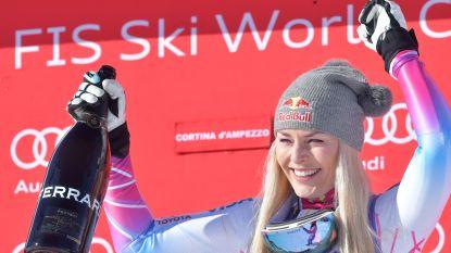 Lindsey Vonn, bijna 34, gaat nog één skiseizoen door