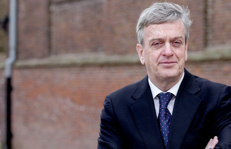 Burgemeester Fons Naterop van de gemeente Aalburg Beeld anp