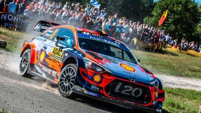 Hyundai herschikt teams voor Rally van Spanje en Wales