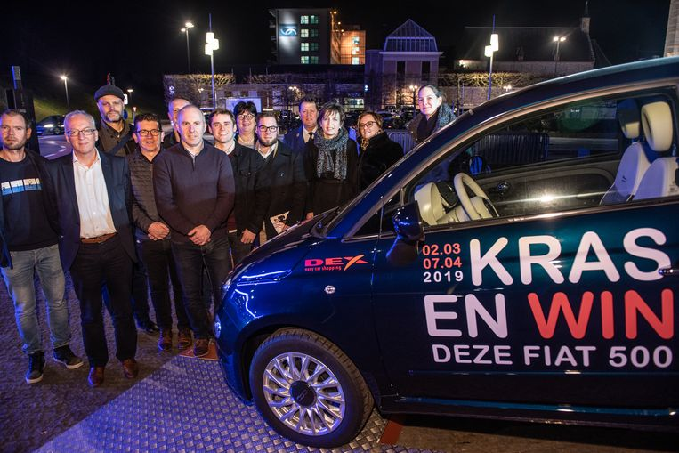 De hoofdprijs van de actie Kras&Win is een auto.
