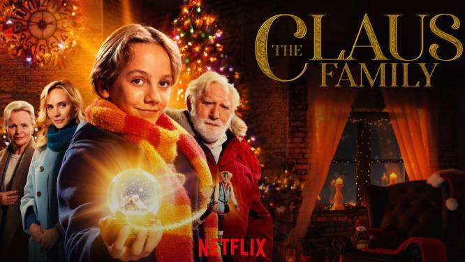Vlaams-Nederlandse kerstfilm 'De Familie Claus' is vanaf 7 december te zien op Netflix