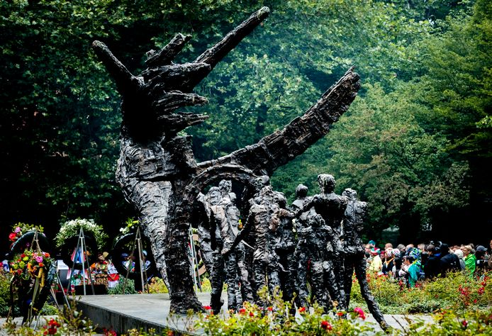 Nationaal Monument Slavernijverleden in het Oosterpark.