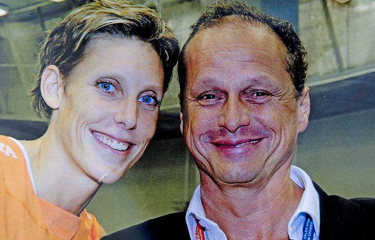 Ingrid Visser en haar partner Lodewijk Severein. Beeld ANP