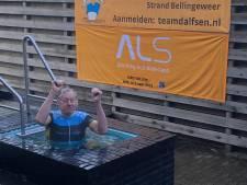Dalfser 'ice bucket' levert toch nog 2500 euro voor goede doel op