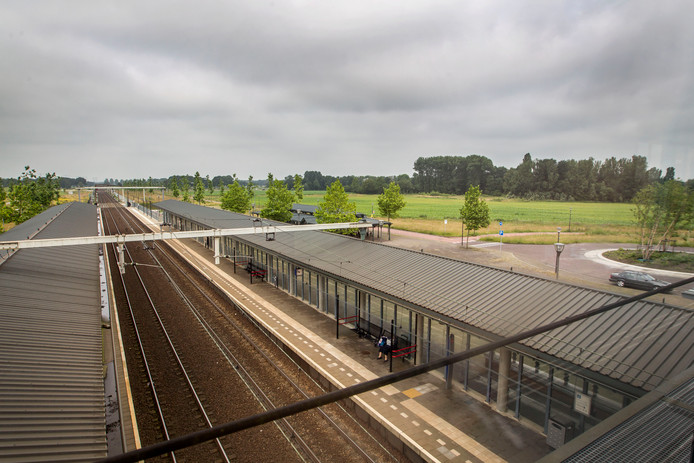 Net achter station Brandevoort moet de slimme wijk komen.
