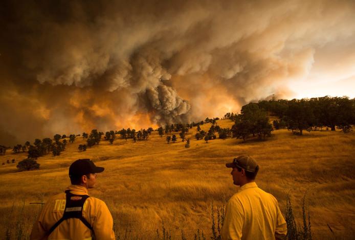 Natuurbranden in Californië (archieffoto uit 2015)