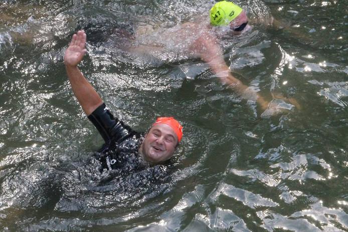 Arturo Balado deed al drie keer eerder mee aan de Swim to Fight Cancer.