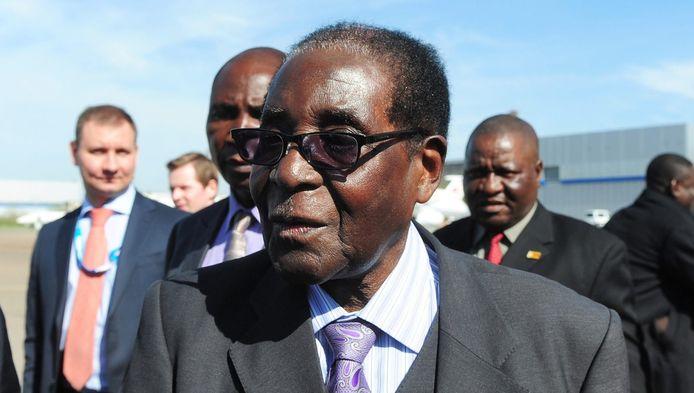 Robert Mugabe, président du Zimbabwe.