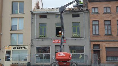 Afbraak voormalig café Déjà Vu gaat van start