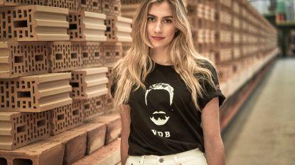VIDEO. Tien dilemma's voor Cameron Vandenbroucke bij voorstelling t-shirtcollectie ter ere van haar vader