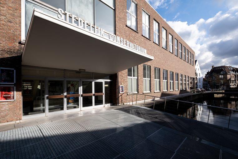Het Conservatorium is een van de stadsgebouwen die dit jaar ledverlichting krijgt.