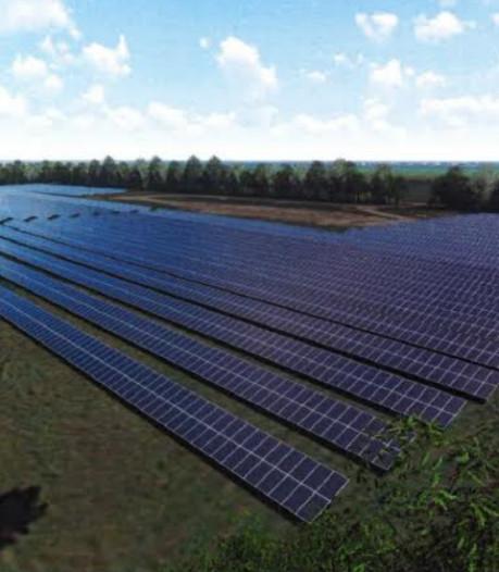 Nieuwe energie van oude vuilstort in Hattem: veld van 6000 zonnepanelen