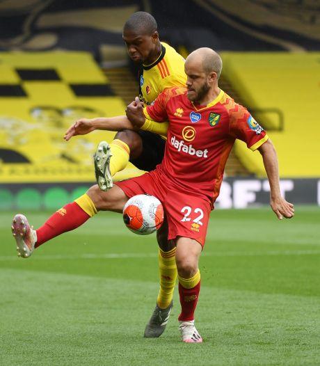 Watford s'impose pour la 100e Kabasele, Norwich relégué en Championship