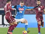 Napoli kan titel wel vergeten na gelijkspel tegen Torino