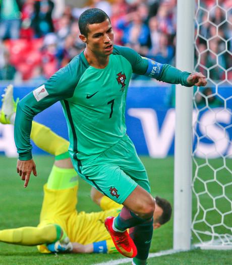 Cristiano Ronaldo beslist duel met Rusland in Confed Cup